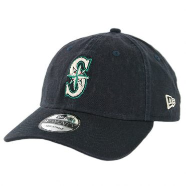 New Era 9Twenty Seattle Mariners Game Core Classic Strapback Hat Dark Navy
