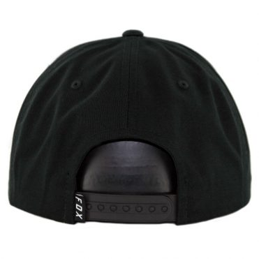 Fox Ingratiate Snapback Hat Black