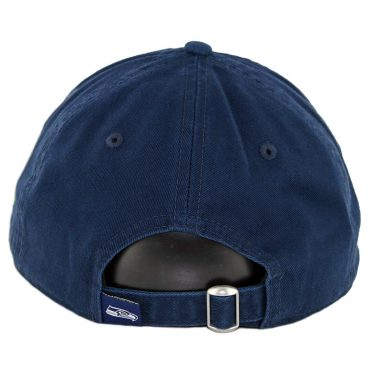 New Era 9Twenty Seattle Seahawks Core Classic Strapback Hat Dark Navy