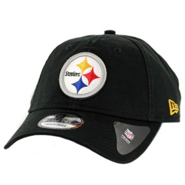 New Era 9Twenty Pittsburgh Steelers Core Classic Strapback Hat Black