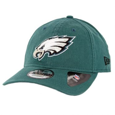 New Era 9Twenty Philadelphia Eagles Core Classic Strapback Hat Midnight Green