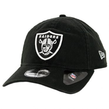 New Era 9Twenty Oakland Raiders Core Classic Strapback Hat Black