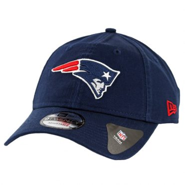 New Era 9Twenty New England Patriots Core Classic Strapback Hat Dark Navy