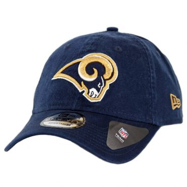 New Era 9Twenty Los Angeles Rams Core Classic Strapback Hat Dark Navy
