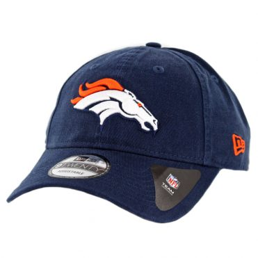 New Era 9Twenty Denver Broncos Core Classic Strapback Hat Dark Navy
