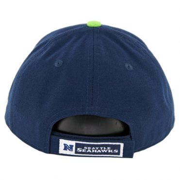 New Era 9Forty Seattle Seahawks The League Strapback Hat Dark Navy