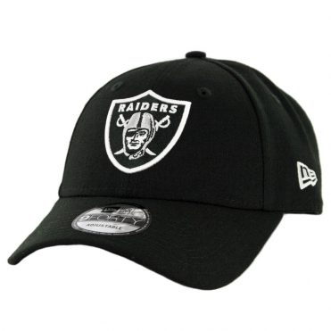New Era 9Forty Oakland Raiders The League Strapback Hat Black