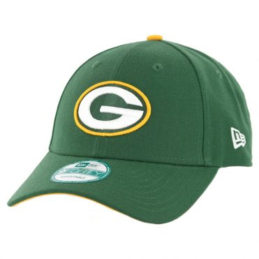 New Era 9Forty Green Bay Packers The League Strapback Hat Green