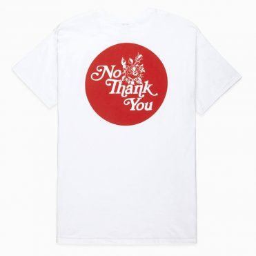 10 Deep Thanks For Nothing T-Shirt White