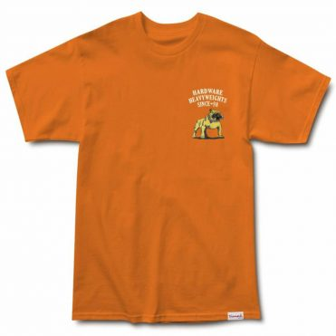 Diamond Supply Co Bulldogs Short Sleeve T-Shirt Orange