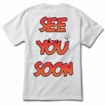Diamond Supply Co See You Soon Short Sleeve T-Shirt White