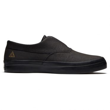 HUF Dylan Slip On Shoe Black Black