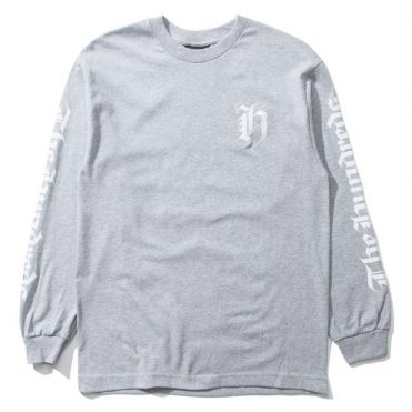The Hundreds H Crest Long Sleeve T-Shirt Athletic Heather