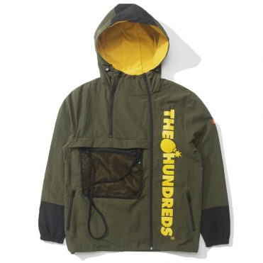 The Hundreds Terrain Jacket Olive