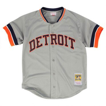 Mitchell & Ness Detroit Tigers Authentic BP 1987 Jersey Grey