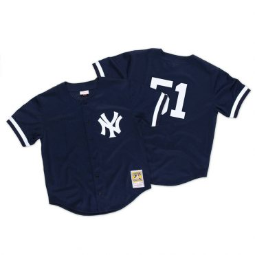 Mitchell & Ness New York Yankees Authentic BP 1998 Jersey Dark Navy