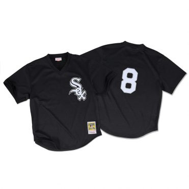 Mitchell & Ness Chicago White Sox Authentic Mesh BP 1993 Jersey Black
