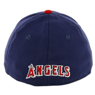 "New Era 39Thirty California Angels ""A"" Cooperstown Team Classic Stretch Fit Hat Navy Red"