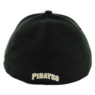 New Era 39Thirty Pittsburgh Pirates Game Team Classic Stretch Fit Hat Black