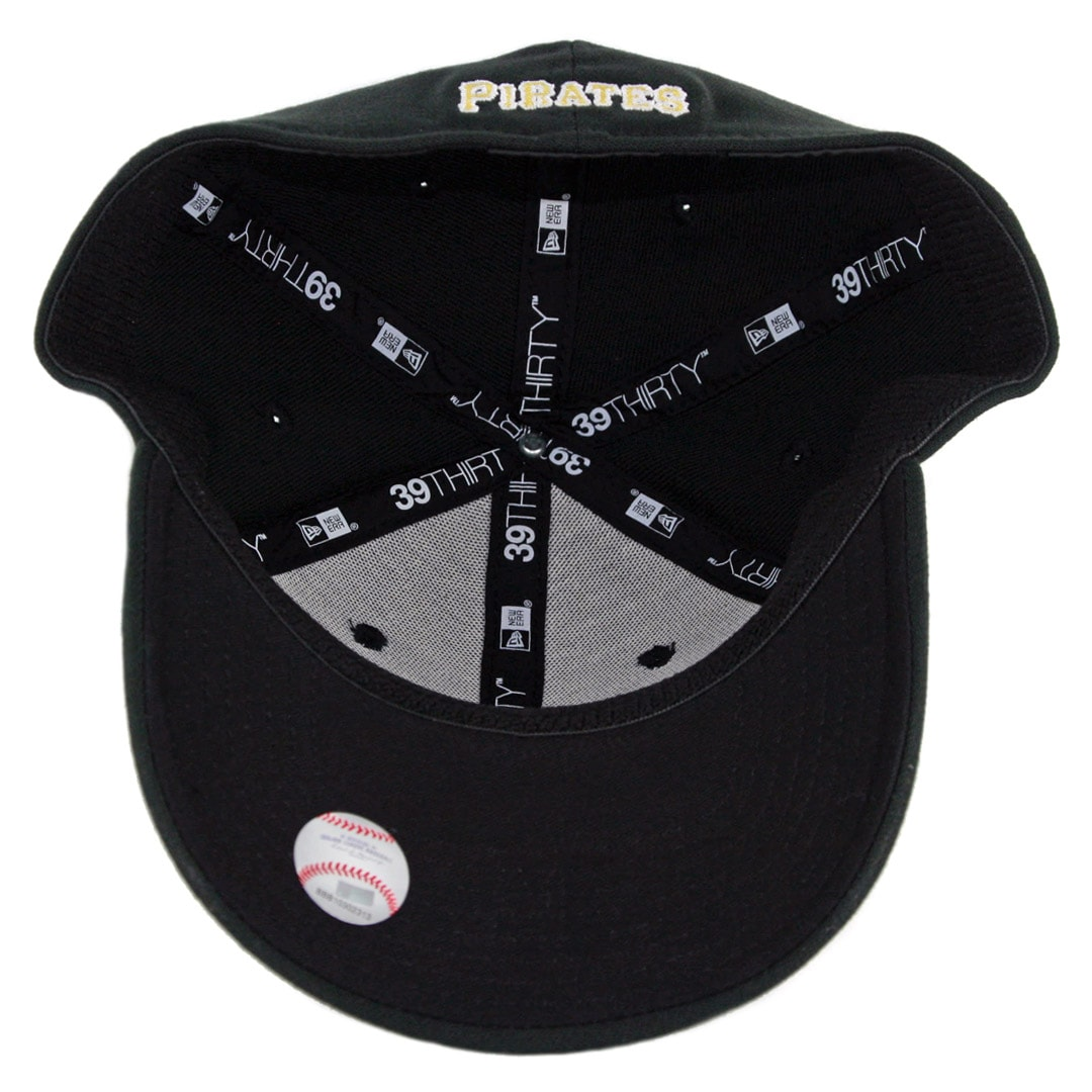 New Era 39Thirty Pittsburgh Pirates Game Team Classic Stretch Fit Hat Black.  🔍.  24.99 3211279bb23c