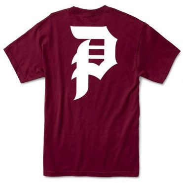 Primitive Dirty P Core T-Shirt Burgundy