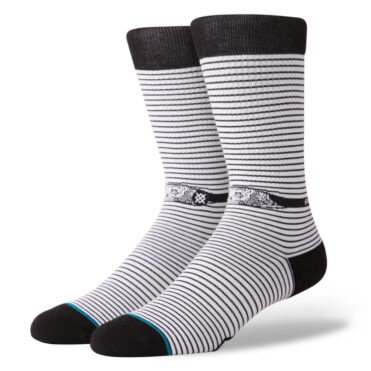 Stance x Sketchy Tank Eye Spy Sock White