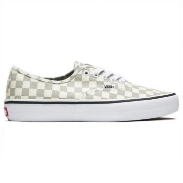 Vans Authentic Pro Checkerboard Shoe Desert Sage