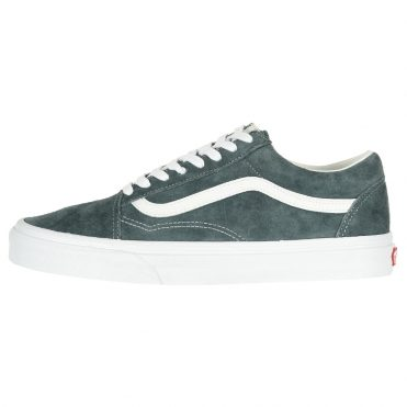 Vans Old Skool Pig Suede Stormy Weather True White