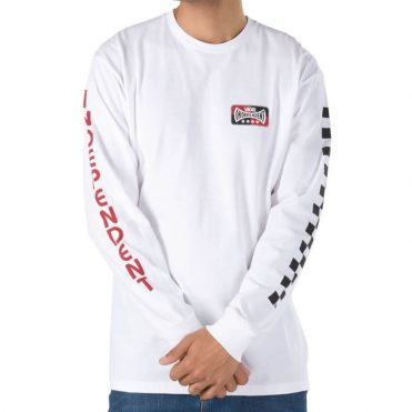 Vans x Independent Long Sleeve T-Shirt White