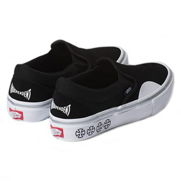 Vans x Independent Slip-On Pro Shoe Black White
