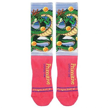 Primitive x Dragon Ball Z Shenron Sock Coral