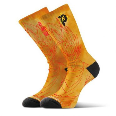 Primitve x Dragon Ball Z Saiyan Goku Sock Orange