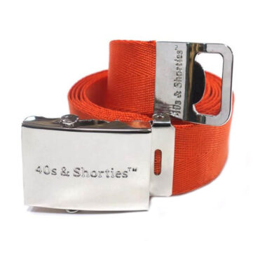40's & Shorties Eastside Belt Orange