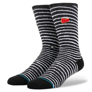 Stance Black Star Sock Black