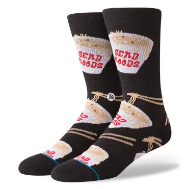 Stance Noods Sock Black