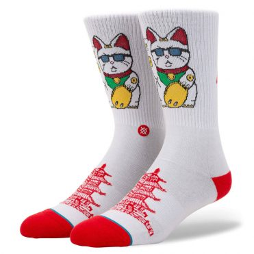 Stance Thank You Enjoy Sock White