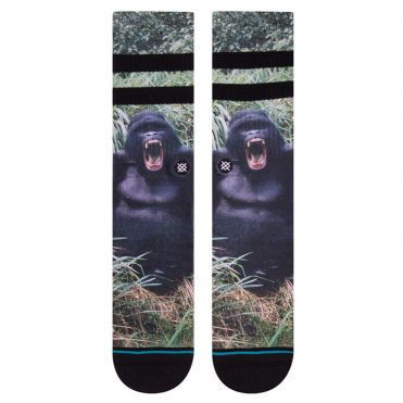 Stance Gorilla Sock Black