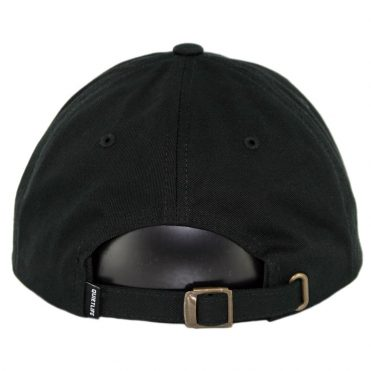 The Quiet Life Loners Club Dad Strapback Hat Black