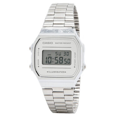 Casio A168WEM-7VT Watch Silver