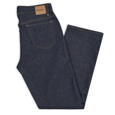 Brixton Labor 5 Pocket Denim Pants Raw Indigo