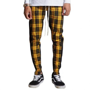 Civil Mulholland Track Pants Yellow