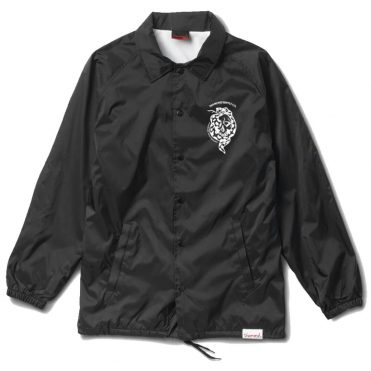 Diamond Supply Co Venom Coaches Jacket Black