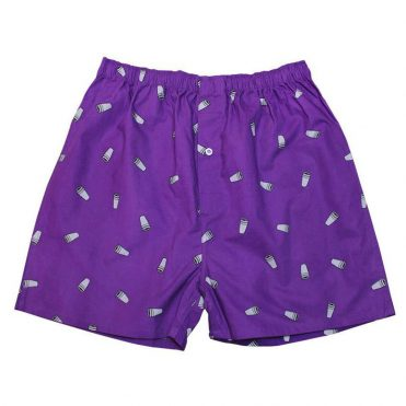 40's & Shorties Double Cup Boxer Purple