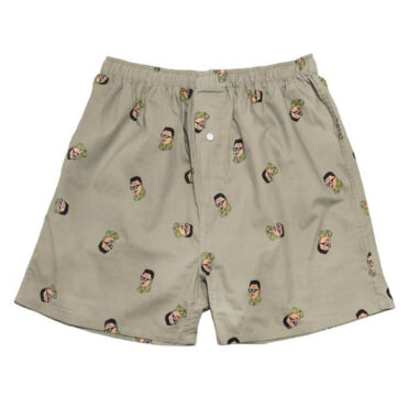 40's & Shorties Glorious Leader Boxer Tan