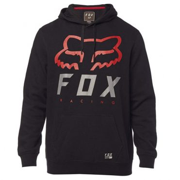 FOX Heritage Forger Pullover Hooded Sweatshirt Black