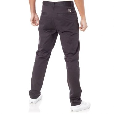 FOX Stretch Slim Fit Chino Pant Black Vintage