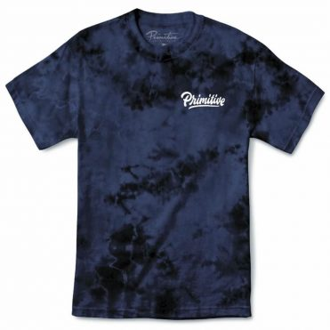 Primitive Campbell Washed T-Shirt Navy Wash