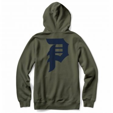 Primitive Dirty P Hooded Sweatshirt Olive