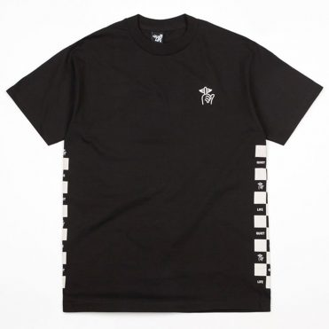 The Quiet Life Checker T-Shirt Black