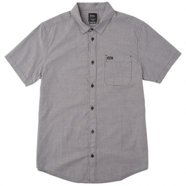 RVCA That'll Do Micro Button-Up Shirt Slate